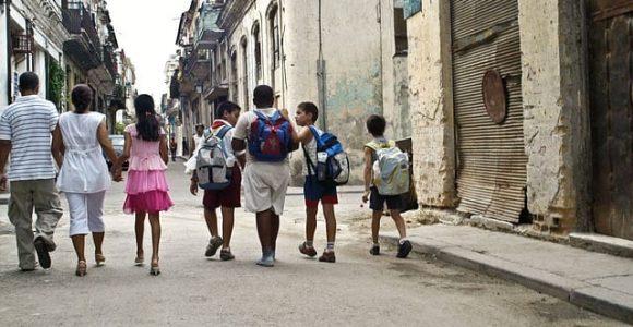 children in Cuba