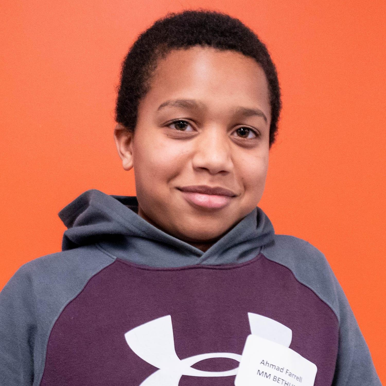 Ahmad Farrell MM Bethune Grade 6