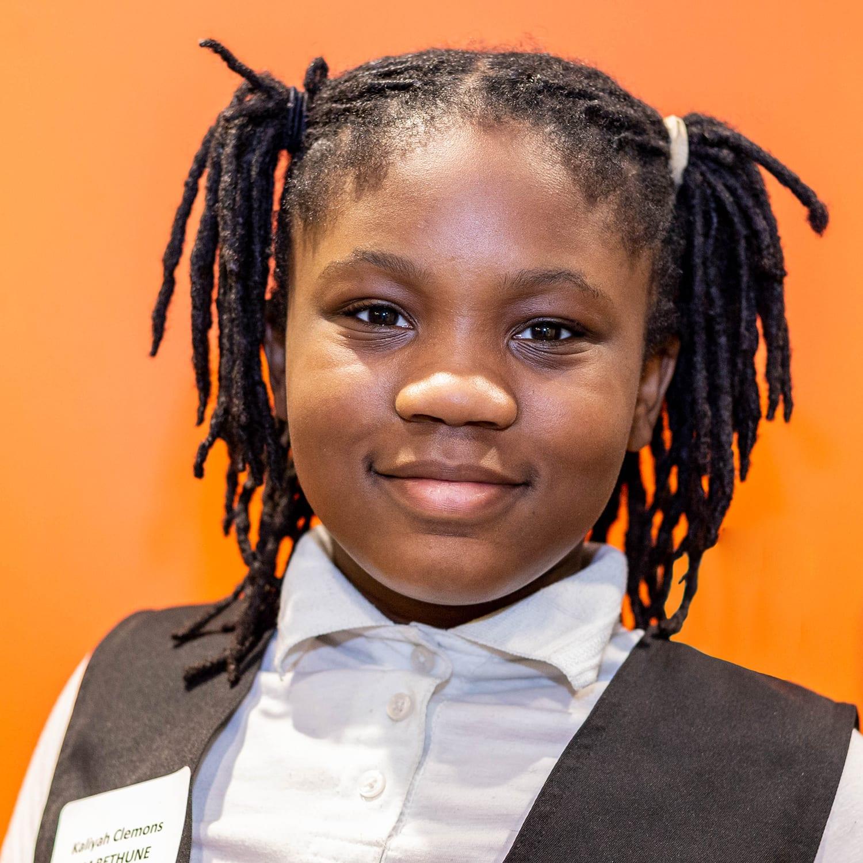 Kaliyah Clemons MM Bethune Grade 5
