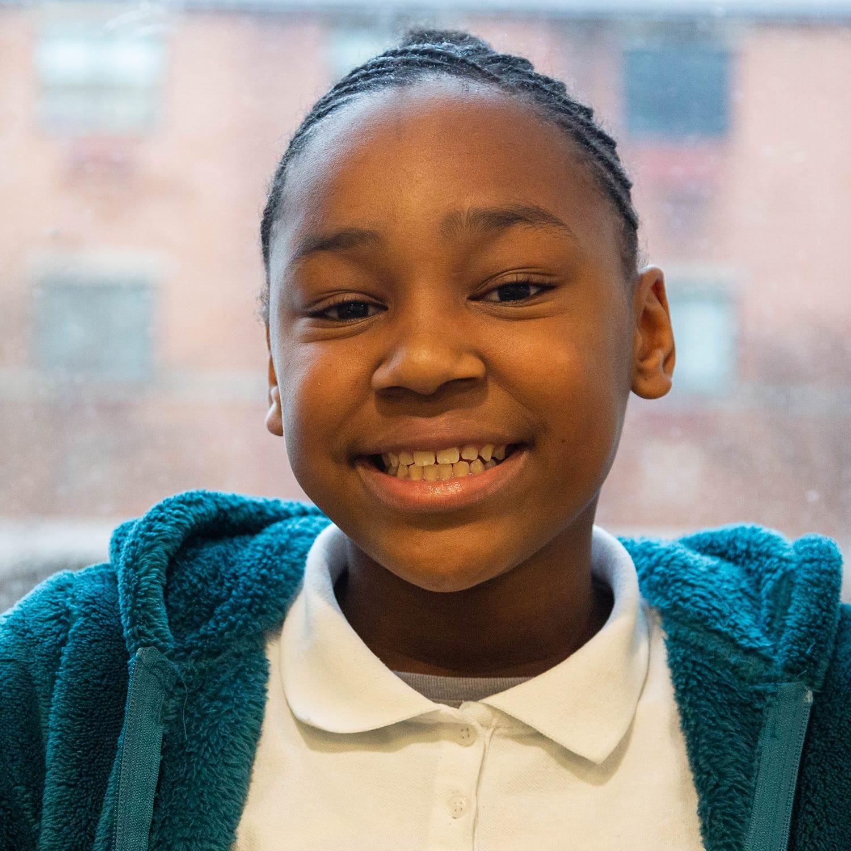 Nevaeh Hudgens MM Bethune Grade 5